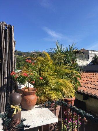 D'Leyenda Hotel: rooftop terrace