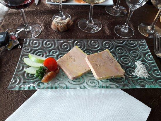 Sevrier, Francia: Foie gras