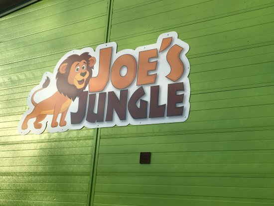 Redditch, UK: Welcome to Joe's Jungle Soft Play Centre