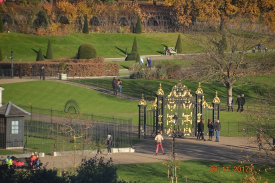 View of Kensington Palace gate and ground from room 509 - Picture of ...