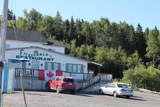 Boularderie, Canadá: Restaurant
