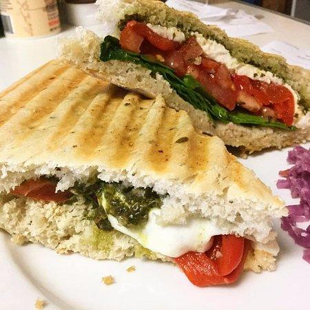 Lyndonville, VT: Caprese panini