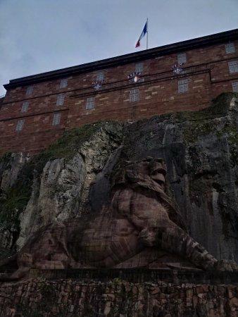 Belfort Citadel & The Lion of Belfort: Lion