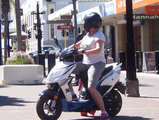 Napier Scooter Hire