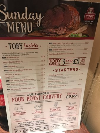 Toby Carvery, Enfield - 801 Great Cambridge Rd ...