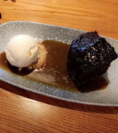 The Cock Inn: Sticky Toffee Pudding
