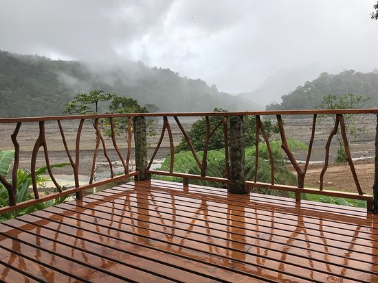 Province of Puntarenas, Costa Rica: Great views from the lodge.