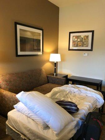 Triadelphia, Западная Вирджиния: Loved Holiday Inn Express In Wheeling, WV