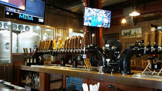 Osseo, WI: Bar tappers and brewing equipment.