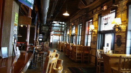 Osseo, WI: Indoor dinig area,