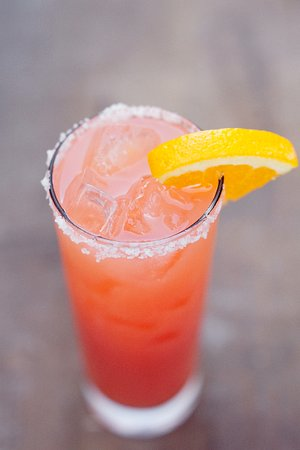 Mayan Cafe: Blood Orange Margarita