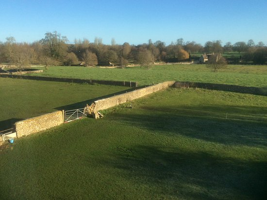 Fairford, UK: View from our bedroom window