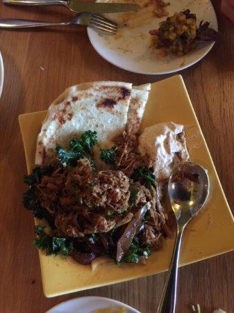 Vij's Rangoli: Pulled Spicy pork dish