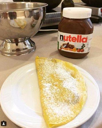 Best Western Hotel Master: Crepe de Nutella do hotel feita na hora