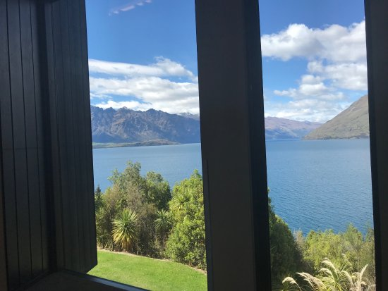 Heritage Queenstown: The view from the conference room