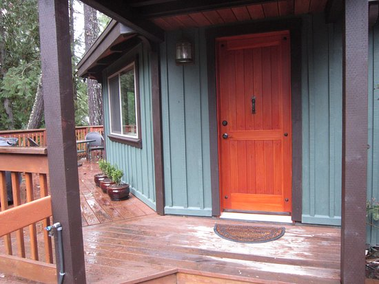 Shawnigan Lake, Canada: Entry door to the Casita.