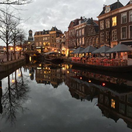 Leiden city center Picture of Leiden South Holland Province
