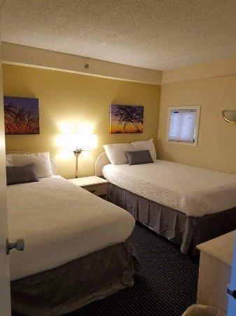 Carousel Resort Hotel & Condominiums: 2 bedroom condo 1st room 2 beds