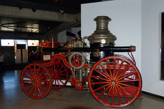 Ohio History Center: An old fire engine