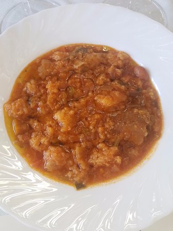Ulignano, Italia: grandma's vegetable soup - it doesn't look like much, but it was fantastic!