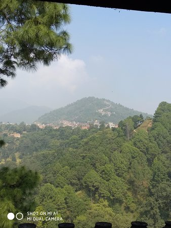 Dakshinkali, เนปาล: view from dakshainkali temple...