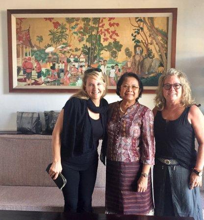 Residence Sisouk: With Nan:-)