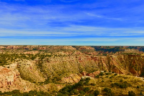 Canyon, TX: This is a beautiful place to visit especially if you like hiking or biking.