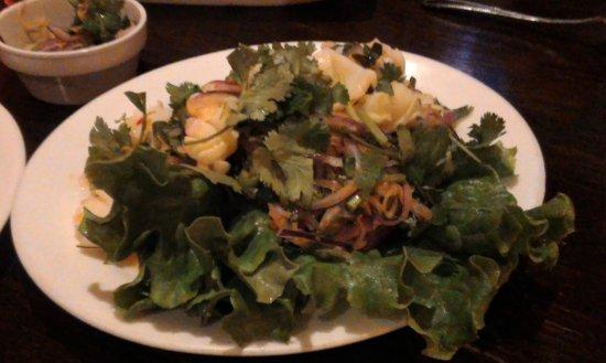 Woodside, NY: Squid salad