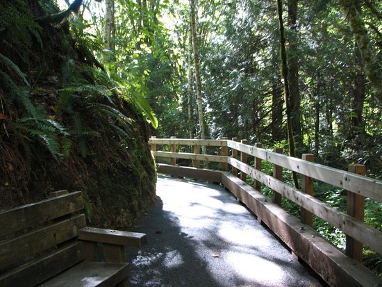 Port Angeles, Waszyngton: Wide, Flat Pathways