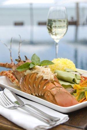 Bazaruto Island, Mozambique: Crayfish Lunch