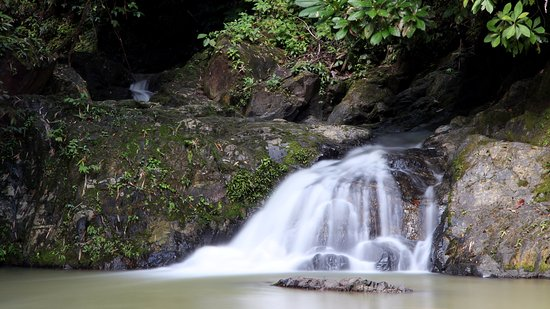 Takua Thung District, Tailandia: One of the tiers at Rawan falls
