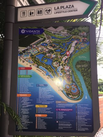 Grand Luxxe at Vidanta Nuevo Vallarta: This map shows how grande the property is!