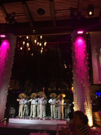 Grand Luxxe at Vidanta Nuevo Vallarta: Santuario, a gathering place for live music and dance