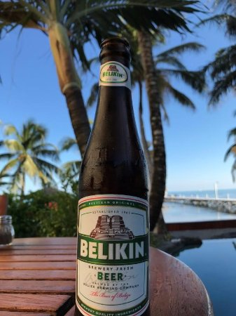 Pelican Reef Villas Resort: The local beer by the pool