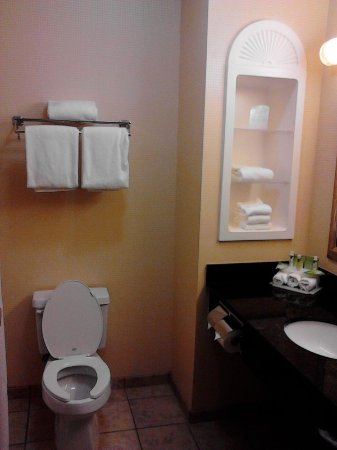 Holiday Inn Express Knoxville Strawberry Plains: Guest Bathroom