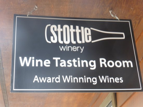 Stottle Winery Tasting Room Hoodsport: Good wines