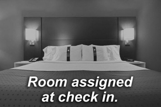 Holiday Inn Express & Suites Bay City: Room Assigned at Check In.