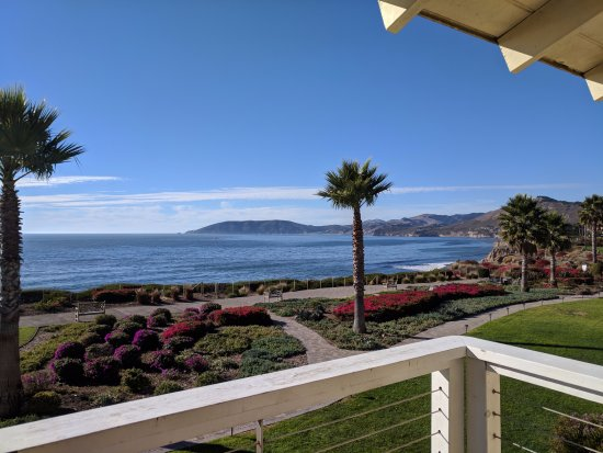 Spyglass Inn: View from our room