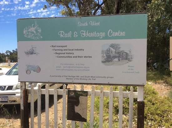South West Rail & Heritage Centre: Signage