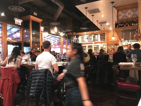 The Purple Pig: Too crowded, loud and busy even for the wait staff