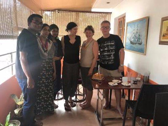 Sajhome: Birthday celebration of Jaqueline....