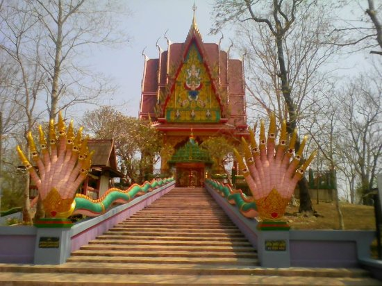 Aranyaprathet, Thailand: 本堂の中には入れない