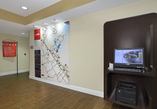 TownePlace Suites Redwood City Redwood Shores: TowneMap