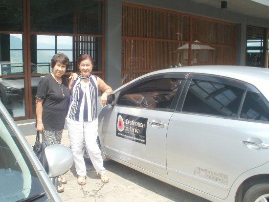 Destination Sri Lanka: Happy Clients - On their way to Nuwara Eliya