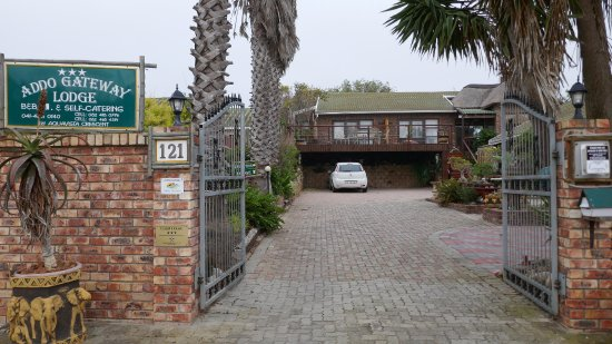 Colchester, South Africa: entree
