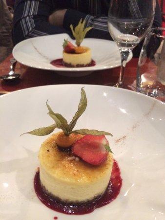 Paxton Resort & Spa : Delicieux cheese cake au resto l'Origano
