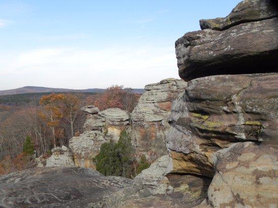 "Harrisburg, IL: ""Camel rock"""