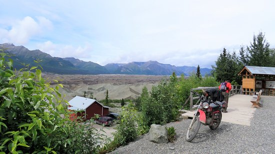 Wrangell-St Elias National Park and Preserve, อลาสกา: Kennicott Copper Mine.