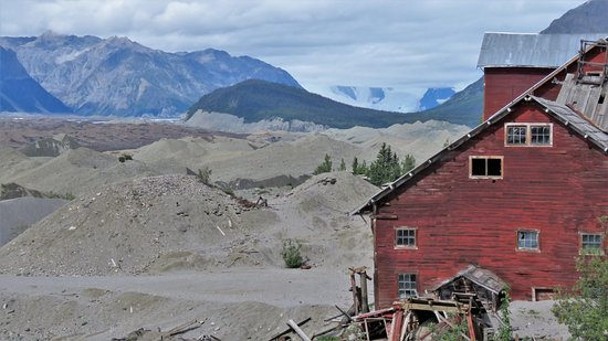 Wrangell-St Elias National Park and Preserve, AK: Kennicott Copper Mine.