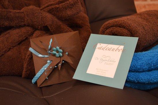 Alveringem, Бельгия: cadeaubonnen zij altijd leuk om te geven en te krijgen